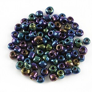 Margele de nisip 4mm (50g) - cod 292 - multicolor