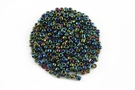 Margele de nisip iris 2mm (50g) - cod 280 - multicolor
