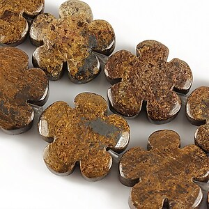 Bronzite floare 20mm