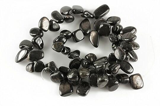 Sirag obsidian nuggets 9-14x7-11mm