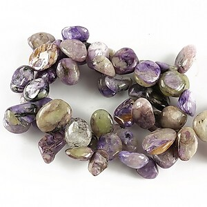 Sirag crazy agate mov nuggets 11-14x9-11mm