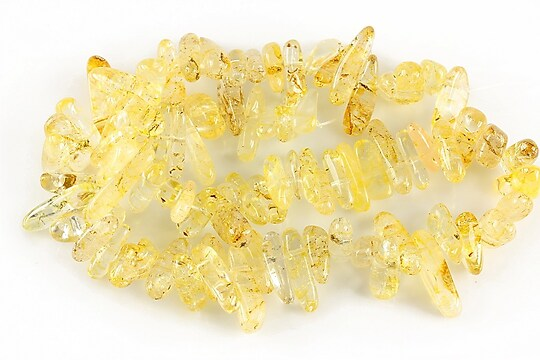 Sirag citrine fulgi 13-19x3-6mm