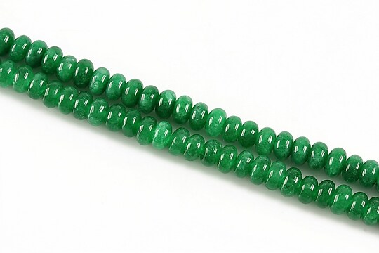 Jad rondele 3x5mm - verde