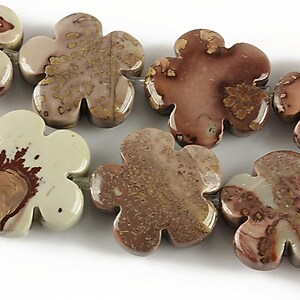 Leopard skin jasper floare 20mm