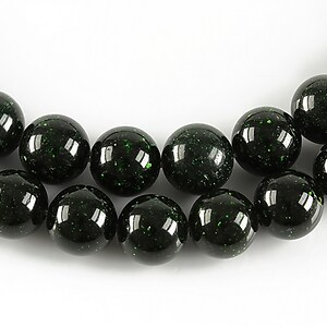 Green Goldstone sfere 10mm