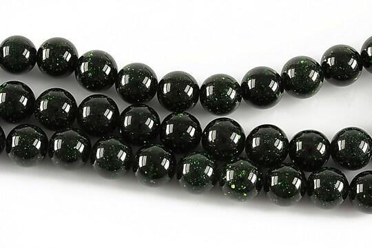 Green Goldstone sfere 8mm