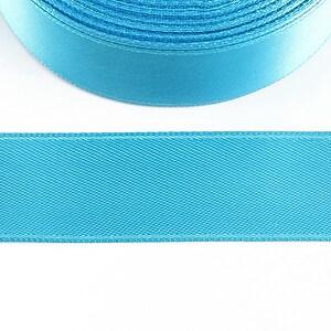 Panglica saten latime 2,5cm (1m) - albastru