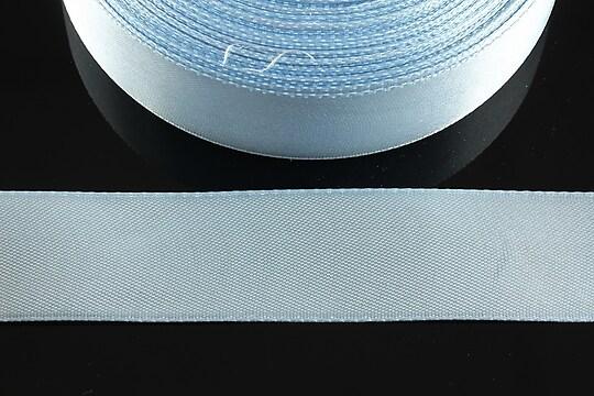 Panglica saten latime 2,5cm (1m) - albastru deschis