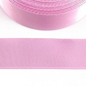 Panglica saten latime 2,5cm (1m) - roz