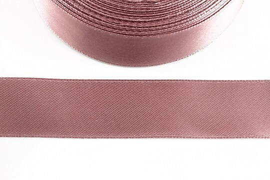 Panglica saten latime 2,5cm (1m) - mov roz