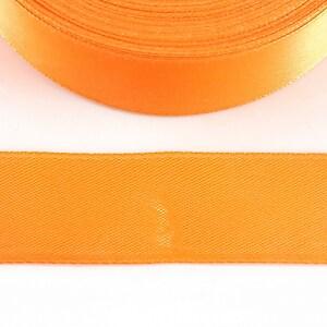 Panglica saten latime 2,5cm (1m) - portocaliu
