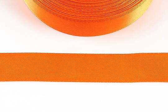 Panglica saten latime 1,8cm (1m) - portocaliu