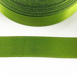 Panglica saten latime 1,8cm (1m) - verde fistic