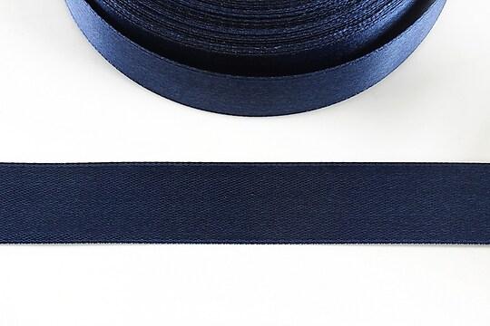 Panglica saten latime 1,8cm (1m) - albastru inchis