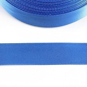 Panglica saten latime 1,8cm (1m) - albastru