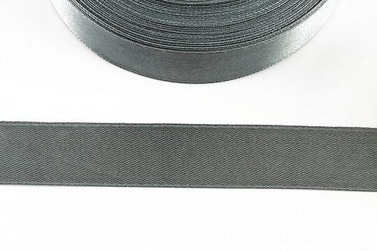 Panglica saten latime 1,8cm (1m) - gri inchis