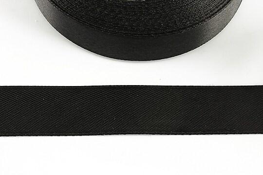 Panglica saten latime 1,8cm (1m) - negru