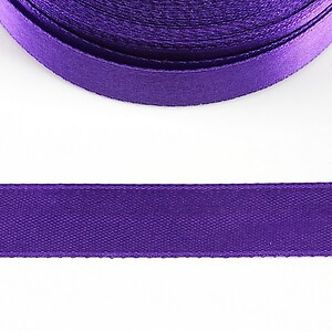 Panglica saten latime 1,4cm (1m) - mov violet