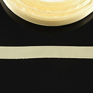 Panglica saten latime 1cm (1m) - portocaliu pal