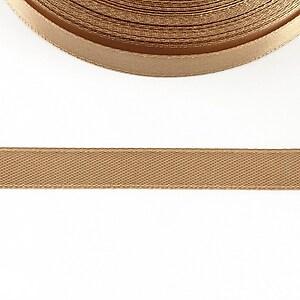 Panglica saten latime 1cm (1m) - cappuccino