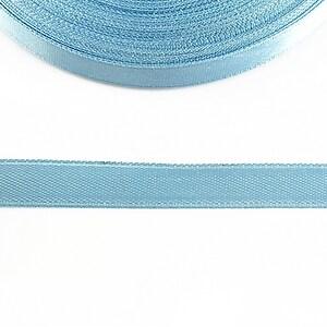 Panglica saten latime 1cm (1m) - bleu