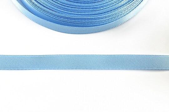 Panglica saten latime 1cm (1m) - albastru deschis