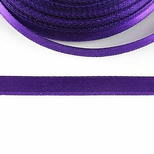 Panglica saten latime 1cm (1m) - mov violet