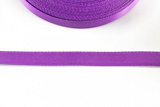 Panglica saten latime 1cm (1m) - violet
