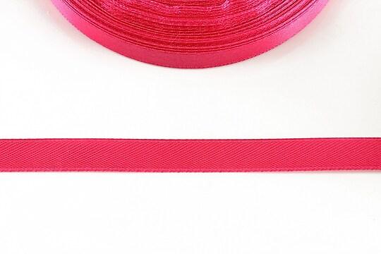 Panglica saten latime 1cm (1m) - roz bonbon