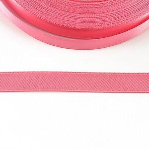 Panglica saten latime 1cm (1m) - roz
