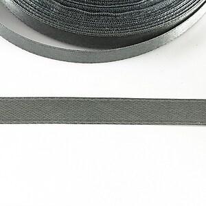 Panglica saten latime 1cm (1m) - gri