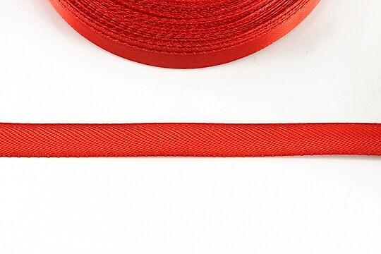 Panglica saten latime 1cm (1m) - rosu
