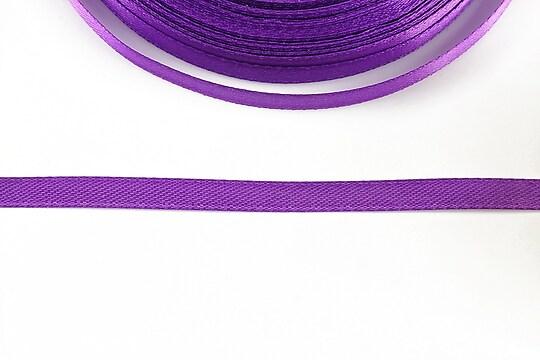 Panglica saten latime 0,6cm (1m) - mov violet