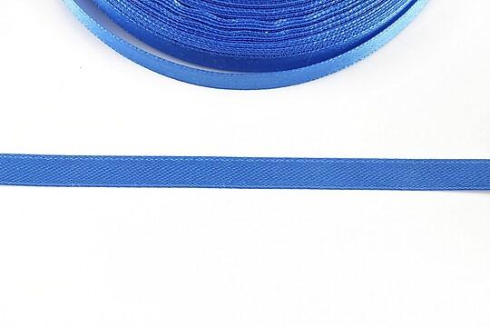 Panglica saten latime 0,6cm (1m) - albastru