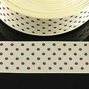 http://www.adalee.ro/43748-large/panglica-saten-ivory-cu-buline-maro-latime-24cm-1m.jpg