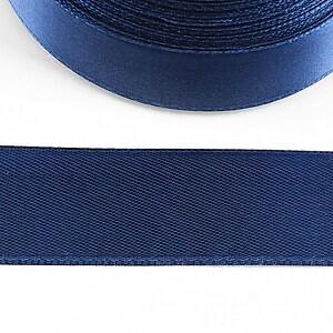 Panglica saten latime 2,5cm (1m) - albastru inchis