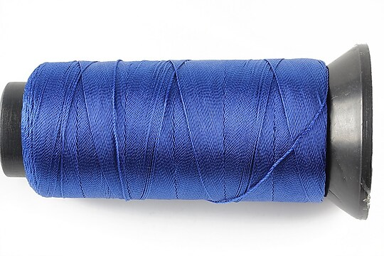 Ata de insirat 0,5mm, mosor de 300m - albastru safir
