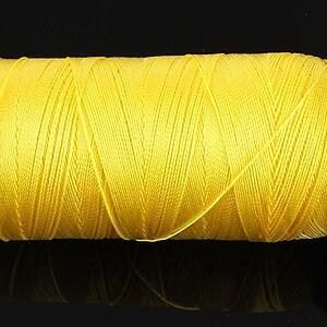 Ata de insirat 0,5mm, mosor de 300m - galben