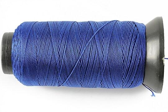 Ata de insirat 0,6mm, mosor de 200m - albastru safir