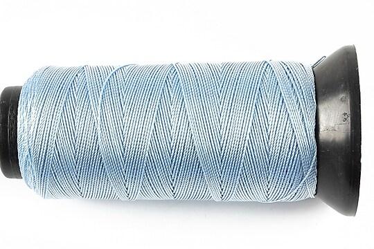 Ata de insirat 0,6mm, mosor de 200m - albastru deschis