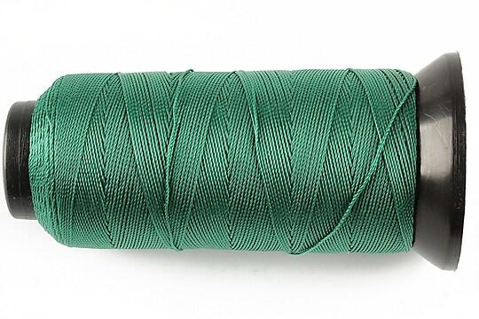 Ata de insirat 0,6mm, mosor de 200m - verde