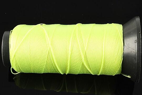 Ata de insirat 0,6mm, mosor de 200m - verde neon