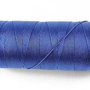 Ata de insirat 0,8mm, mosor de 130m - albastru safir