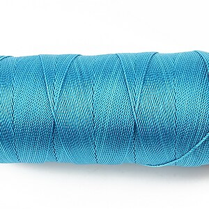Ata de insirat 0,8mm, mosor de 130m - albastru
