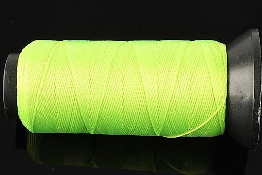 Ata de insirat 0,8mm, mosor de 130m - verde neon