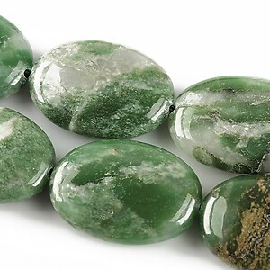 African jade oval 25x18mm