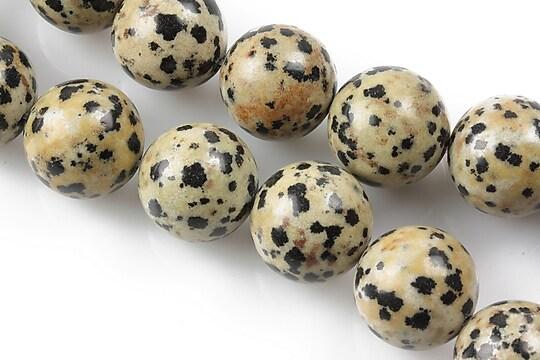 Jasp dalmatian sfere 14mm