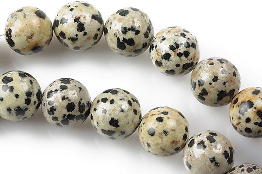 Jasp dalmatian sfere 12mm