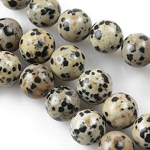 Jasp dalmatian sfere 10mm