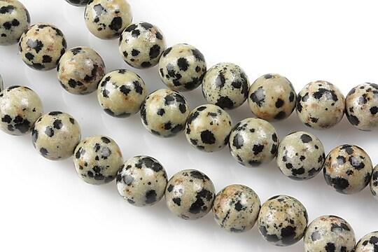 Jasp dalmatian sfere 8mm